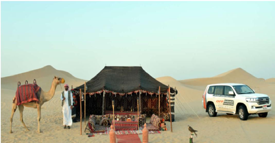 Desert Safari Adventure In Abu Dhabi