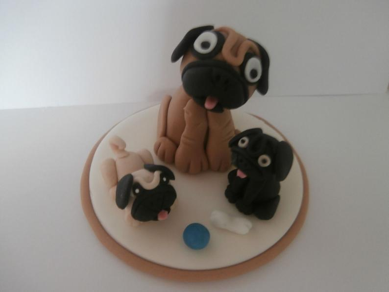 Puppy Fondant Delight Birthday Design For Kids