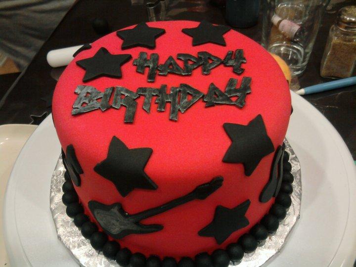 Ruffle Shuffle Twist Birthday Cake Design For Kids