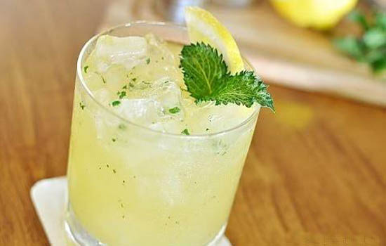 Lemon and Mint Cooler