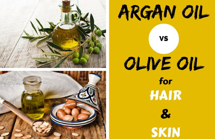 olive oil vs argan oil