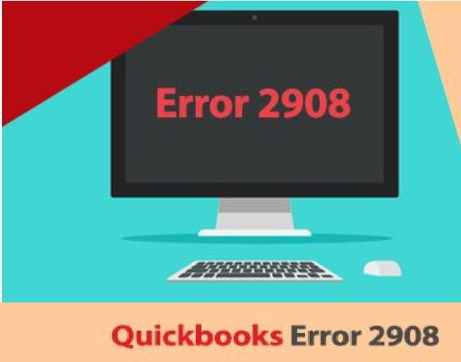 Error 2908 - Solutions