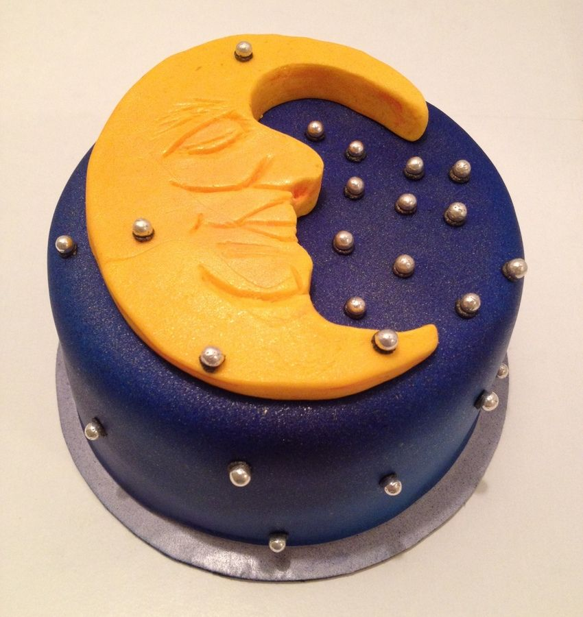 Celestial Celebration Birthday Cake Design