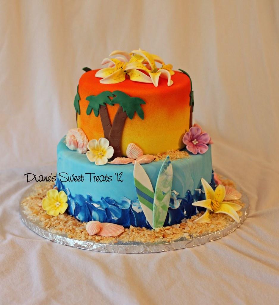 Colorful Kids Birthday Cake Designs