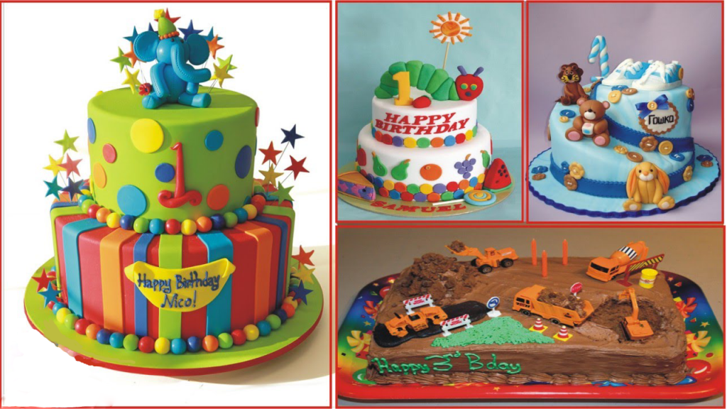 Kids Birthday Cake Design