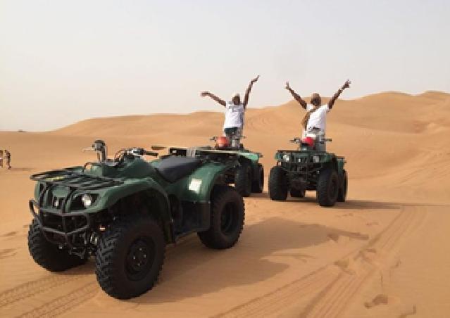 Dubai Self-drive Quad Bike, Sand Boarding, Camel Ride and ...