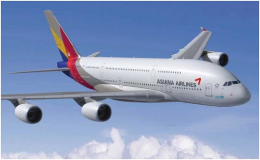 airplane of asiana airlines