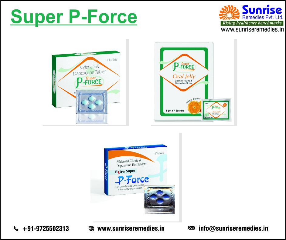 Super P-Force Products – Best Way to Protect From ED and PE