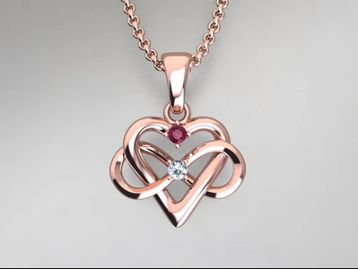 Diamond Heart Pendants Are Forever!