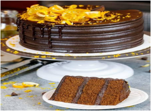 Chocolate Orange Citrus Cake